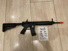 Lancer Tactical LT-705 Warrior M4 Carbine AEG Airsoft Rifle (Black)