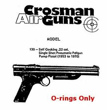 Crosman 130,137 Pistol Seal O-ring Kit (Breech Gasket Included)
