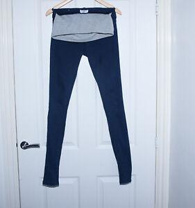 Ladies MAMALICIOUS Maternity Dark Blue Skinny Jeans W26 L32