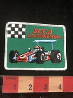 Vtg Red Race Car SCCA CONTINENTAL Sports Car Club Of America Patch O95O