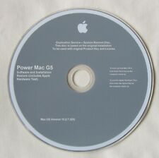 Apple Power Mac G5 (2003/4) OS X 10.2.7 PowerMac7,2 Install Disc Jaguar (v4657)