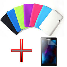 """OP2 Silicone Gel Rubber Soft Case Cover + LCD For 7"""" Lenovo Tab 2 A7-10F Tablet"""