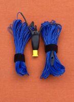 80-6M HF Ham Radio Antenna Ultralight Multi-Band Portable/Stealth/QRP -Free Ship
