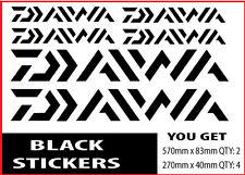 Daiwa Fishing Boat Sticker Decals Set