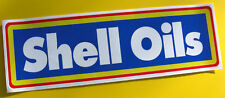 SHELL OILS vintage style Group B rally Decal Sticker
