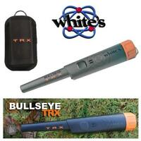 Whites Bullseye TRX Waterproof PinPointer ~ Authorized Dealer For Whites! Orange