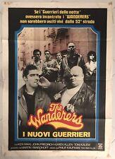 MANIFESTO 2F THE WANDERERS I NUOVI GUERRIERI DELLA NOTTE THE WARRIORS CULT