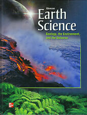 Glencoe Earth Science -- Geology, the Environment and the Universe - HC Textbook
