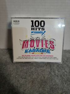 100 HITS PRESENTS MOVIES KARAOKE 5-CD SET