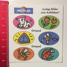 ADESIVI/Sticker: Master-Aid immagini divertenti da incollare-ortopad (310416192)