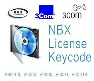 NBX 100 Voice Mail Upgrade to 4H/4P From 30M/4P 3C10137 (9170)