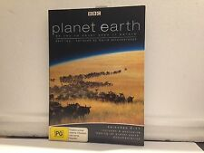 DAVID ATTENBOROUGH: PLANET EARTH: PART TWO EPISODES 6-11 -(R4 - LIKE NEW)- 2 DVD