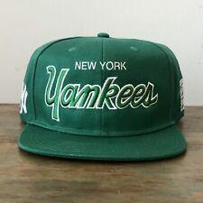 New York Yankees Script Sports Specialties Nike SnapBack St Patrick's Green Hat