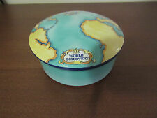Tiffany & Co Tauck World Discovery Map Porcelain Trinket Box made in France