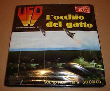 """UFO SHADO """"L'OCCHIO DEL GATTO"""" SOUND FILM 110 M S/8 SUPER 8 COLOR TECHNO FILM"""