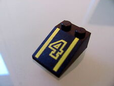 LEGO 3298pb007 @@ Slope 33 3 x 2 with Number 4 Pattern @@ 1517 1665 6395 6526