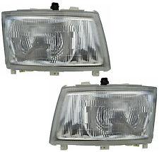Pair Headlights Mitsubishi Canter 05-11 FE73 FE83 FE84 FE85 Lamps 06 07 08 09 10