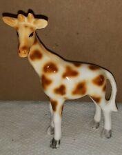 "Vintage Beautiful Fine Porcelain Giraffe Figurine 3.5"" tall"