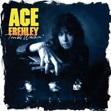 ACE FREHLEY (TROUBLE WALKIN' CD - SEALED + FREE POST)