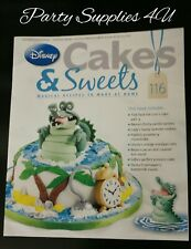 Disney Cakes and Sweets Magazine Issue 116. Peter Pan/recipes/cupcakes/caramel
