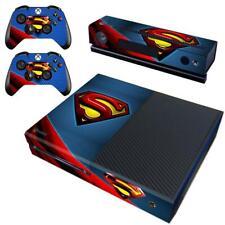 Xbox one Kinect Console DC Comic Superman S Super Hero Vinyl Skin Decals Sticker