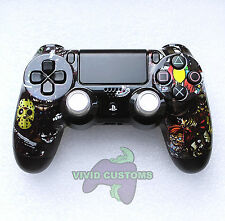Custom Modded Playstation 4 Dualshock Wireless PS4 Controller - Nightmare