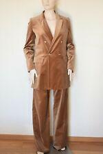 MAX MARA, Runway Velvet Suit - Blazer & Pants, Size 12 US, 14 GB, 42 DE, 46 IT