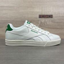 Reebok Royal Complete 3.0 Low UK 9 White Green Classic Club Tennis Chalk