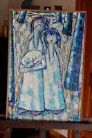 Tableau - Peinture - Huile sur toile - Signée PUZAN GODJAMARIAN