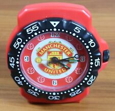 Manchester United Collectible Alarm Clock With The Old Football Club Crest