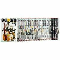 [used] Manga SOUL EATER VOL. 1 - 25 Comics Complete Set in Japanese