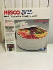 NESCO AMERICAN HARVEST FOOD DEHYDRATOR JERKY MAKER MODEL FD-27W