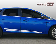 2011-2014 Ford Focus Rocker Panel Side Stripes MotorINK Decals Accent Graphic