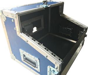 Ultrasonics DJ Mixer CD Flight Case - 2u - 6u - 2u - Made To Order - Buy British
