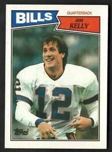 1987 TOPPS #362 JIM KELLY ROOKIE - HOF