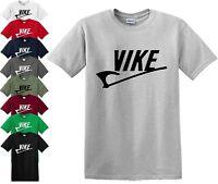 Vike Mens T-shirt Vikings Inspired t shirt Dad uncle Birthday funny Gift Top Tee