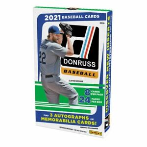 2021 Donruss Baseball | 1 Box | 2 Random Teams #4