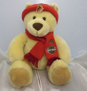 Harley  Davidson  teddy bear plush 14 inches