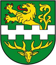 Wappen von Bergisch Gladbach Bügelbild, Aufbügler, H ca. 4,5 cm B ca. 4,0 cm