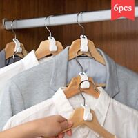 Wardrobe Space-saving Hanger Hook Coat Hooks Plastic Multi-function Closet Stack