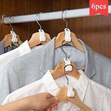 Wardrobe Space-saving Hanger Hook Coat Hooks Plastic Multi-function Closet Stack