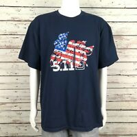 5.11 Tactical Series Graphic T-shirt 2XL Men's Navy Blue American Flag Military