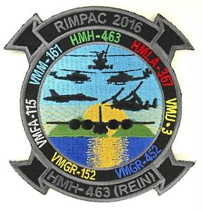 USMC RIMPAC 2016 PATCH