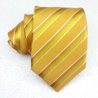 Herren Krawatte seide gold klassisch Morgana Italien hochzeit business