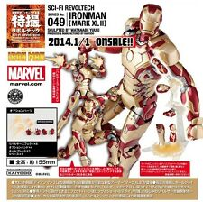 Kaiyodo Marvel Revoltech 049 SCI-FI IRON MAN 3 MARK XLII MK 42 Action Figure