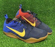 Nike Zoom Kobe XI 11 Elite Low Men Sz 13 Mambacurial Barcelona Navy 844130-464