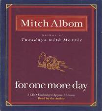 For One More Day (Mitch Albom) - Unabridged Audiobook - 3 Discs - Trusted Seller