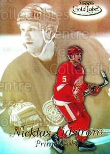 1999-00 Topps Gold Label Prime Gold #6 Nicklas Lidstrom