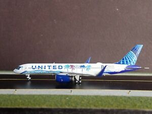 1/400 NG Model United Airlines B757 757 N14106 Her Art Here California