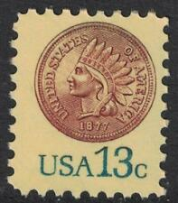 Scott 1734- 1877 Indian Head Penny, cent- MNH 13c 1978- unused mint stamp